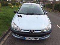 Peugeot 206 1.1 Fever 5dr ***LOW INSURANCE GROUP*** 2004 (53 reg), Hatchback