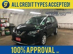2015 Nissan Rogue S AWD*REVERSE CAMERA* PHONE CONNECT* DOWN HILL
