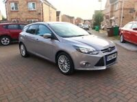 2013 FORD FOCUS 1 LITRE ZETEC ECOBOOST, FULL HISTORY, LONG MOT, £20 TAX, 70 MPG