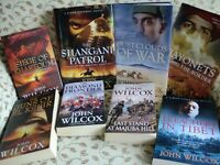 Collection of 8 John Wilcox Books