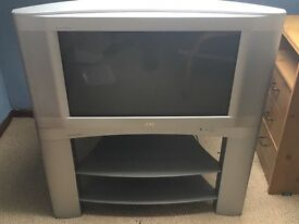 JVC 28 inch to with stand.