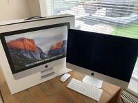 Apple iMac, 21.5-inch, Late 2015, 8GB RAM 1TB Hard drive 2.8GHz Intel Core i5