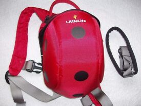 Little Life toddler backpack with rein
