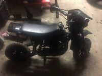 Dr50 crosser 50cc Spairs or repairs