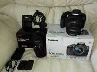 Canon 1300d DSLR Camera Bundle