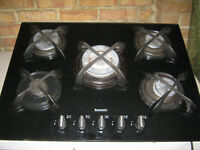 Baumatic 5 ring gas hob