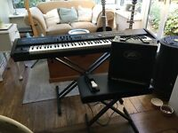 Roland RD700 GX Stage Piano , Stand , Seat , Amp - Perfect Working Order !!!!