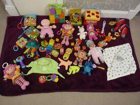 Baby Toy Bundle of Lamaze, FisherPrice, Little Tikes, Vtech