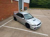SWAP Subaru Impreza bugeye STI Replica SWAP for Honda Civic type R