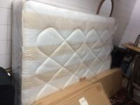 double mattress never used still in plastic cover.