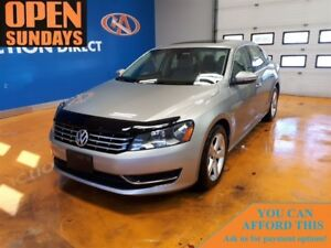 2012 Volkswagen Passat 2.5L Comfortline LEATHER! SUNROOF!
