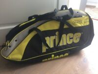 Prince squash racquet bag