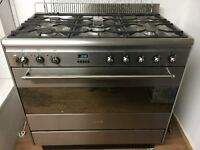 Duel Fuel Smeg Oven and Gas Hob