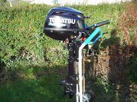 Tohatsu 3.5hp four stroke short shaft outboard engine MFS3.5B