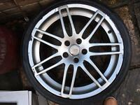 Audi S4 single alloy 19""