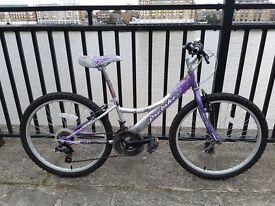 Probike Melody Girl's Bike in Pink. 12 inch frame, 24 Inch Wheels, 18 Speed, 6-9 Years
