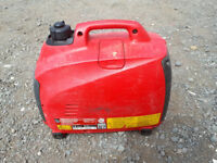 Honda silent generator EU10i 230v