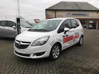 Vauxhall Meriva 1.4i 16V Life 5dr (summit white) 2017