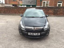 Vauxhall Corsa 1.2 patrol low mileage