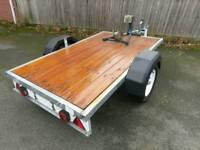 Galvanized motorcycle/quad trailer