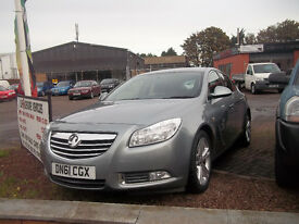 61 PLATE LATE 2011 VAUXHALL INSIGNIA CDTI DIESEL LOW MILAGE FSH 2 KEYS ONLY £6996