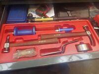 Snap on panel repair kit