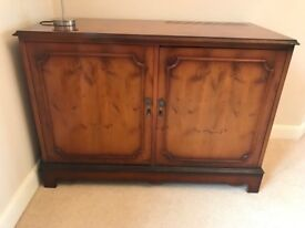 Yew Drinks Cabinet