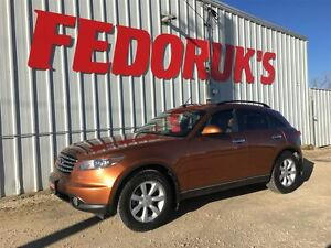 2005 Infiniti FX35 Luxury Package ***Professionally Serviced and