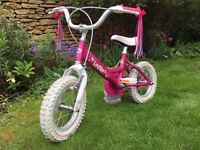 "Dawes Lottie 16"" Girls Bicycle"