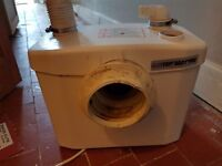 Saniflo Sanitop Macerator Pump WC