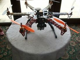 F550 Drone along with HD 1080 Camera & Naza M Lite with GPS,