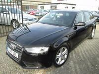 Audi A4 2.0 TDIe SE TECHNIK 5dr + SATNAV + PHONE + LEATHER + FULL AUDI SERVICE HISTORY (black) 2013