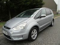 -- 2009 FORD S MAX 2.0 TDCI 6 - SPEED -- 7 SEATER --