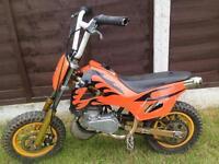 Mini moto crosser 50cc