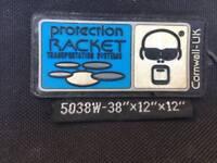 "Wokingham Drum Sales - Protection Racket Wheeled Drum Hardware Case 5038W - 38""x12""x12"""