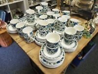 Midwinter spanish garden cups , saucers and plates