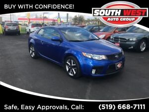 2012 Kia Forte Koup 2.4L SX --LEATHER -- MINT