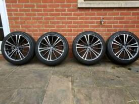 """4 GT86 17""""wheels and tyres."""