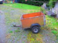 car trailer.4feet x 3 feet