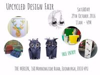 Upcycled Design Fair - Sat 29th Oct, 11am-4pm - Eco Gifts, Crafts and Workshops