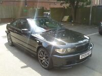 BMW 320CI 2.2 M SPORT MANUAL 2005 LEATHER INTERIOR SERVICE HISTORY UPGRADED ALLOY WHEELS