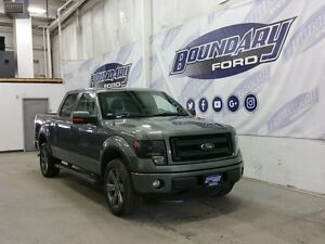 2014 Ford F-150 FX4 W/ Leather, Sunroof, Cooled/Heated Seats