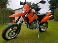 Ktm 660 super moto