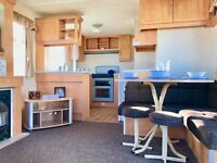 cheap static caravan **including pitch fees!!! 12 month sea side park , pet friendly
