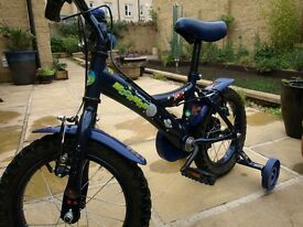 Boys Apollo Space Themed 14 inch Bike