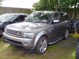 BREAKING FOR PARTS RANGE ROVER SPORT 3.6TD V8 AUTO HSE 272BHP ONLY COVER 52k
