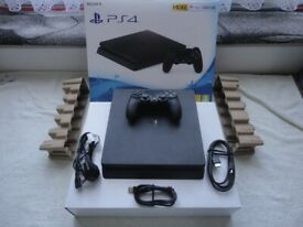 Sony PlayStation 4 PS4 Console + dual shock 4 wireless controller