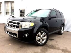 2012 Ford Escape Limited, 4X4, LEATHER, SUNROOF,BLUETOOTH.