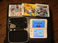 ||*LIMITED EDITION AMAZING CONDITION NINTENDO 3DS XL* WITH MARIO CART 7 AND 4 GAMES*|||