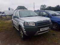 Land Rover Freelander 2003 1.8 Petrol SPARE OR REPAIR